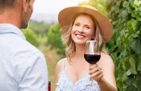 People who drink red wine suffer less from heart disease